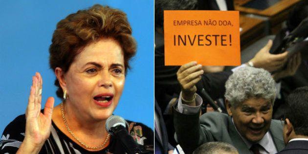 Dilma usa decisão do STF e veta financiamento empresarial de