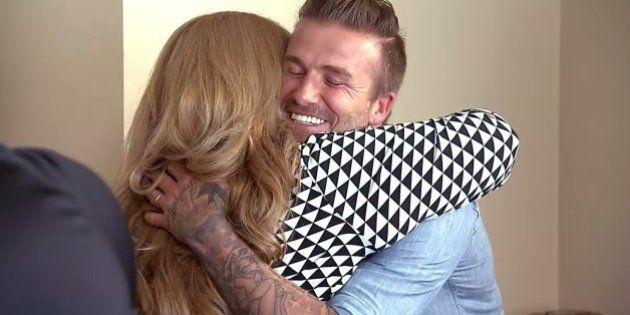 Beckham salva família endividada com cheque de US$ 100 mil