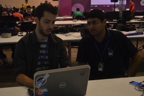 Campuseiro desenvolve capacete inteligente para competição na Campus Party Recife