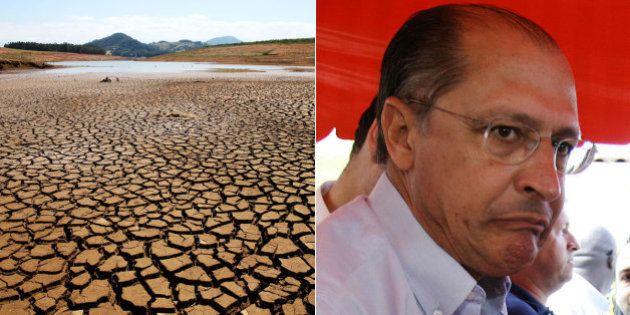 Alckmin promete chocolate a secretário se Cantareira se recuperar este