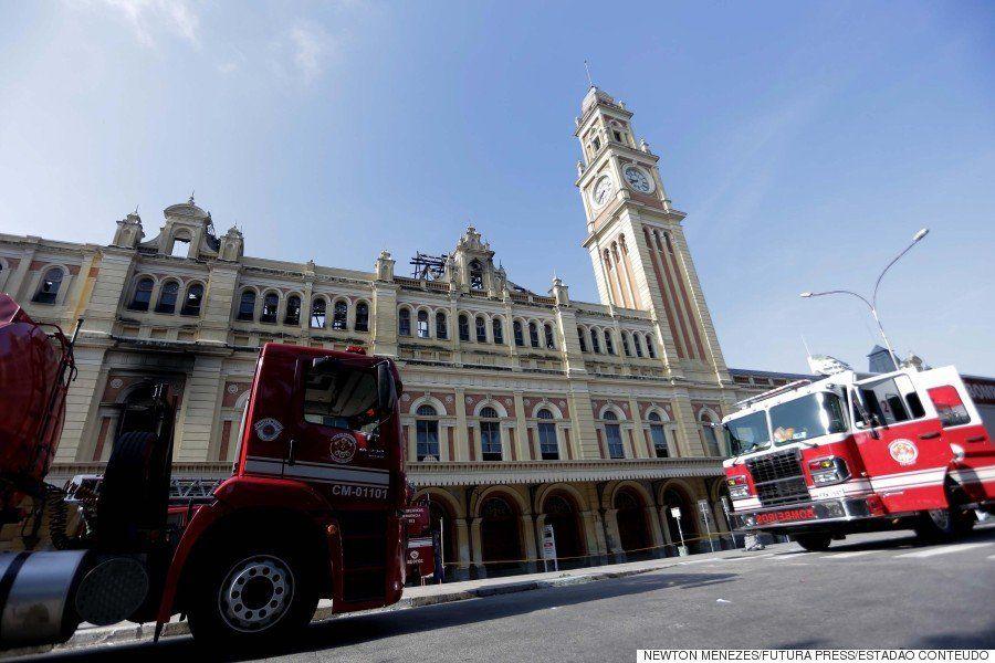 Incêndio no Museu da Língua Portuguesa deixa rastro de destruição e