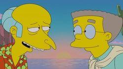 Apaixonado por sr. Burns, Smithers enfim sai do armário para o