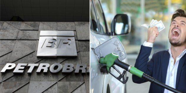 Petrobras anuncia aumento do preço da gasolina em 6% e do diesel em