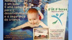 ABSURDO! Escola de natação no RS usa foto de menino sírio afogado em