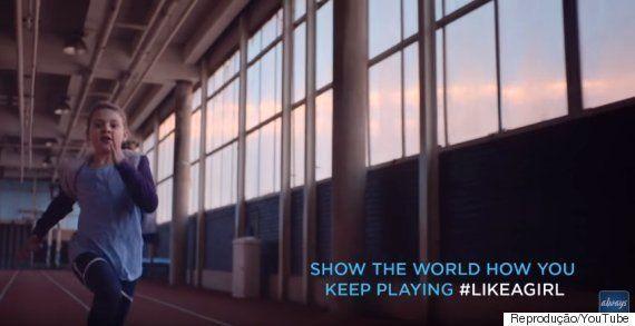 #LikeAGirl: Nova campanha da Always mostra a força das mulheres que praticam