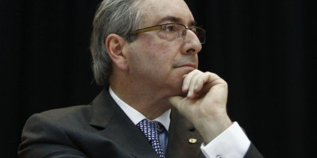 The president of the Brazilian Chamber of Deputies, Eduardo Cunha, from the Brazilian Democratic Movement...