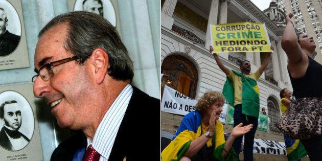 Não é devaneio: Cunha sinaliza que pode votar o impeachment de Dilma em um domingo e ganha apoio da
