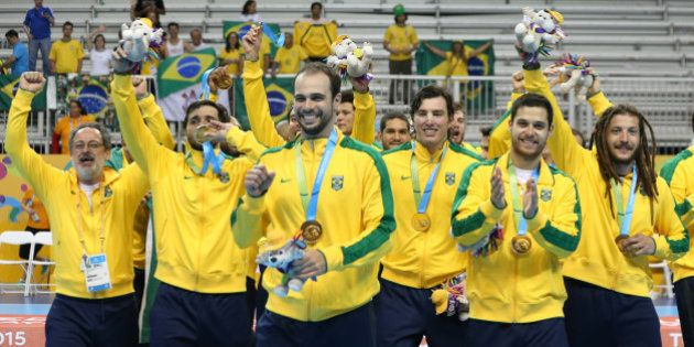 Após prorrogação, Brasil bate Argentina e é ouro no handebol masculino no Pan de
