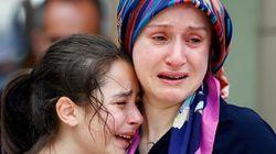 'Nós estávamos em uma poça de sangue', diz testemunha de atentado em
