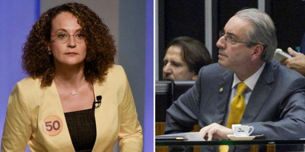 Luciana Genro alfineta Eduardo Cunha no Twitter: 'Contra família criminosa não tem estatuto