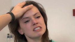 ASSISTA: Daisy Ridley simplesmente ARREBENTA em teste para 'Star