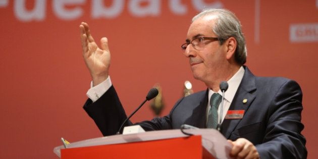Prestigiado pelo empresariado, Cunha critica governo, fala do impeachment e dá recado a quem acha Congresso...
