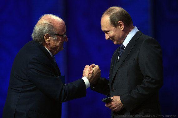 Putin sugere Blatter ao Nobel e defende dirigente: