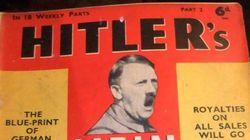 Relançamento de tratado político de Hitler causa polêmica na