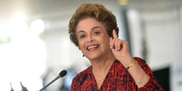 Dilma diz que processo de impeachment que tramita na Câmara é