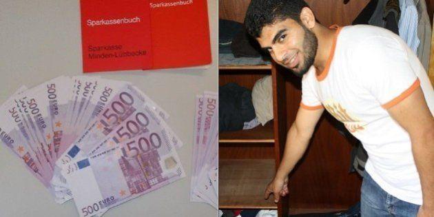 Refugiado encontra R$ 534 mil e entrega para a polícia na