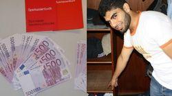 Este refugiado encontrou R$ 534 mil e entregou para a polícia na