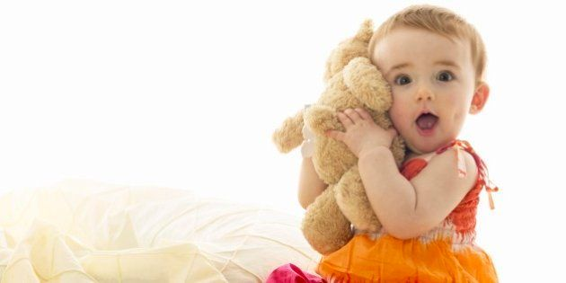 1-2 Years, Baby may soothe him/herself with a familiar toy or thumb sucking. Emotional expressions are...