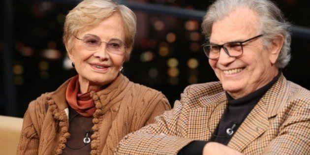 Casados há 53 anos,Tarcísio Meira e Glória Menezes trocam declarações de amor no 'Programa do