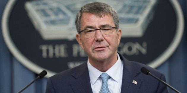 US Secretary of Defense Ashton Carter announces that the military will lift its ban on transgender troops...