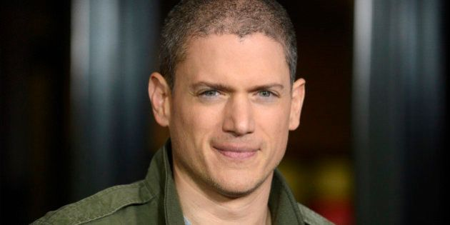 Cast member Wentworth Miller attends a screening