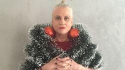 Vera Holtz vestida de árvore de Natal é o MELHOR presente que você vai ganhar neste