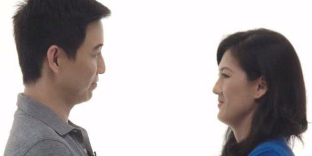 Comercial emociona ao mostrar a difícil intimidade do olho no olho