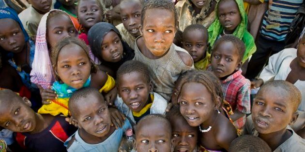 Chad / Darfurian refugees from Sudan / Djabal camp (17 766 refugees, 4681 families), 4 kilometers west...