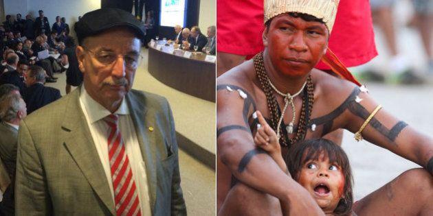 Integrante da Bancada da Bala, deputado do PMDB critica Funai por 'manter índios do Brasil na