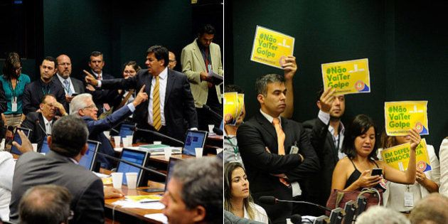 Gritaria, 'golpe' e gafes: Sessão em defesa de Dilma no comitê do impeachment volta a ter