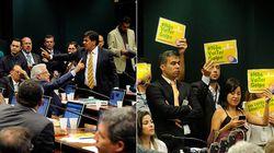 Gritaria, 'golpe' e gafes marcam defesa de Dilma no comitê do