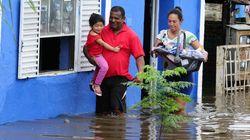 Enchente deixa 6,5 mil desabrigados no RS. Ao menos 32 municípios são