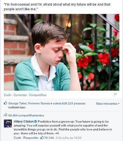 Hillary Clinton não é tão aliada da causa gay como você
