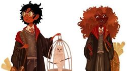 Fãs de Harry Potter criam versões negras de personagens da