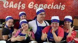 Chefs com síndrome de Down comandam festival beneficente de