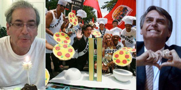 Jair Bolsonaro é o recordista, mas PTB é o mais visado na 'grande pizzaria' chamada Conselho de Ética...