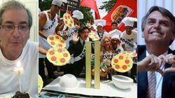Jair Bolsonaro é o recordista na 'grande pizzaria' chamada Conselho de