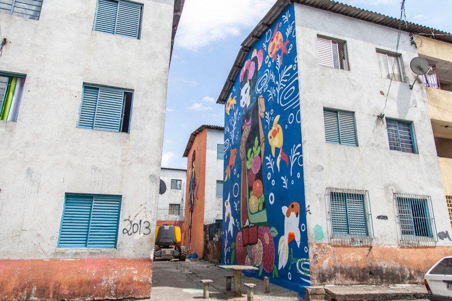 Como o grafite está mudando a realidade de uma comunidade da zona oeste de São