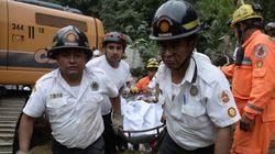 Sobe para 30 número de mortos após deslizamento na