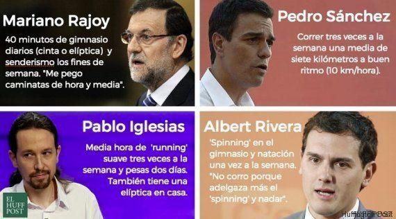 A política precisa de exercícios: por que todos os candidatos a primeiro-ministro da Espanha praticam
