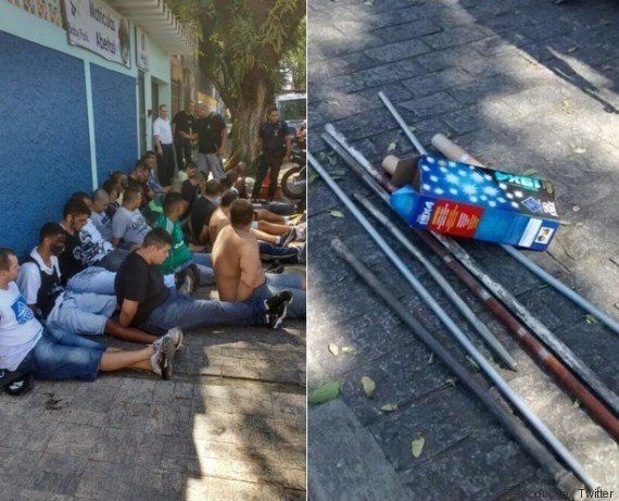 Impunidade é a regra da casa: Torcedores de Corinthians e Palmeiras detidos após brigas já estão