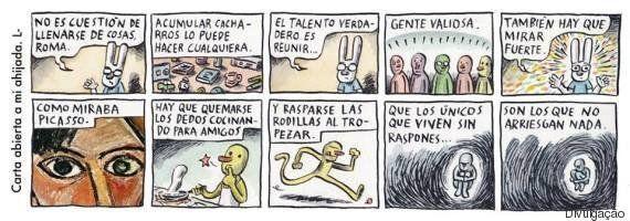 As tirinhas de Liniers para afilhada recém-nascida são de derreter o
