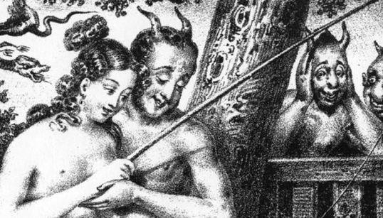 Você precisa conhecer esta arte erótica, vintage e satânica do século 19