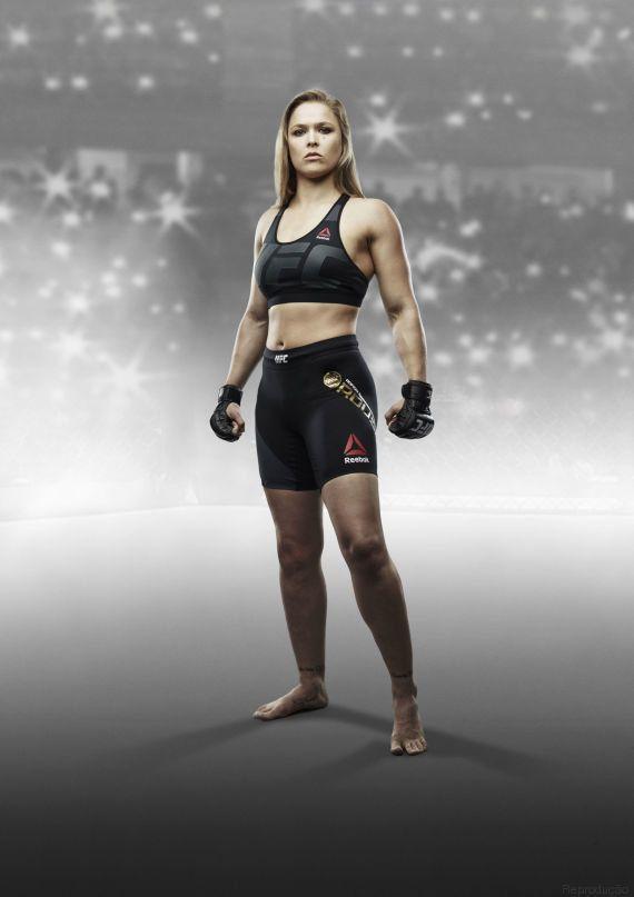 Ronda: 'Meu corpo se desenvolveu para um propósito. Não apenas para ser