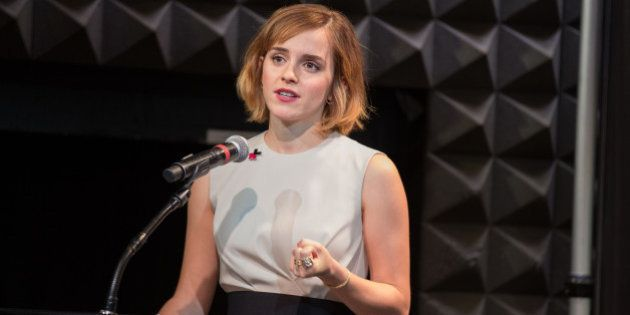 NEW YORK CITY, NY, UNITED STATES - 2016/08/03: Emma Watson at the UN women launch of HeForShe arts week...