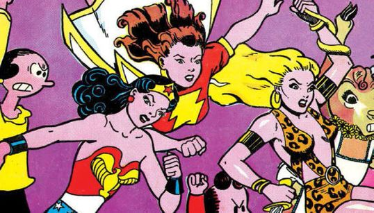 A história radical e empoderadora do 1º quadrinho feminista feito só por