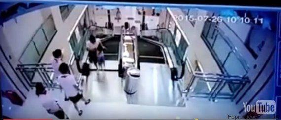 Após acidente matar mulher, chineses entram em PÂNICO com escadas rolantes