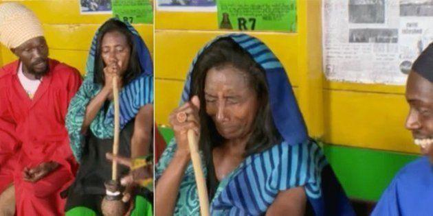 Glória Maria fuma cachimbão da paz no Globo Repórter e brisa em rede