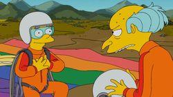 Roteirista tira personagem de 'Os Simpsons' do armário para homenagear filho