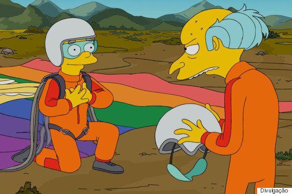 Roteirista de 'Os Simpsons' homenageia filho gay e finalmente tira Smithers do